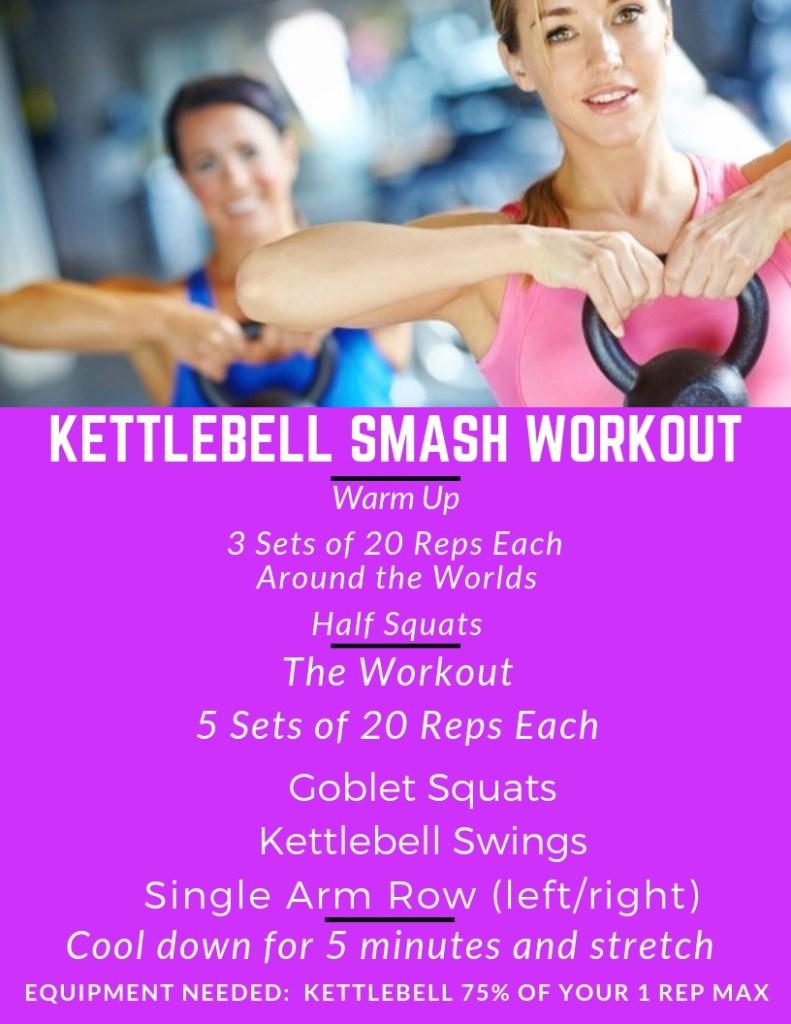 Kettlebell Smash Workout #kettlebellworkout #kbworkout #kettlebells #workout #exercise #exerciseroutine #kettlebellexerciseroutine #kettlebellworkoutroutine