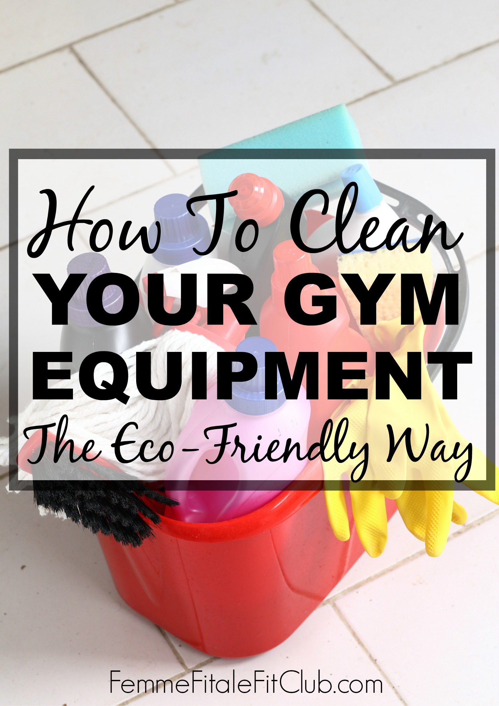 How To Clean Your Gym Equipment The Eco-Friendly Way