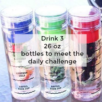 Water Warrior 3 bottles challenge