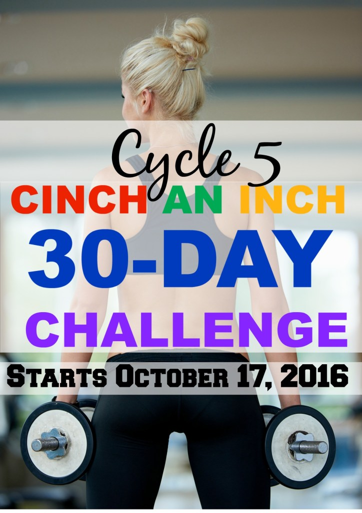 cycle 5 cinch an inch challenge
