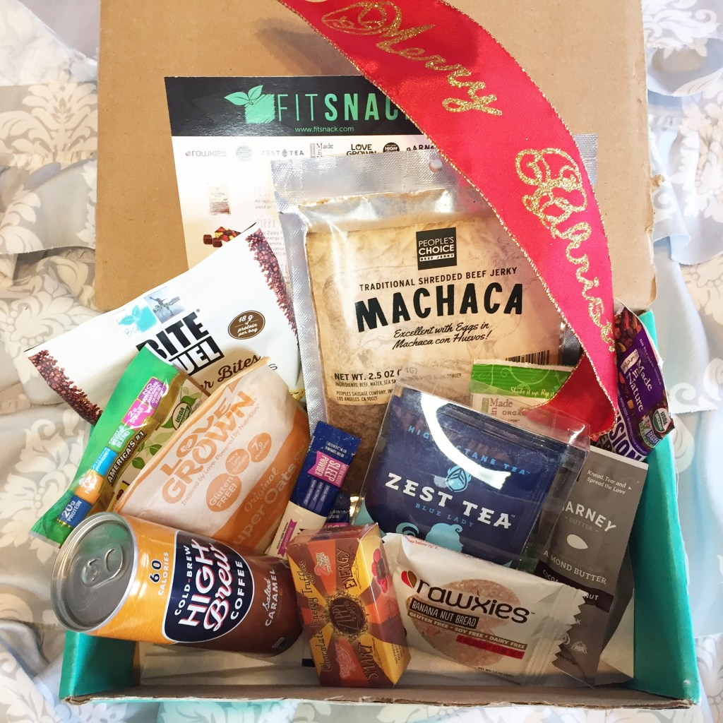 December Fit Snack Box