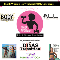 Black Women Do Workout 100K Giveaway + New You!