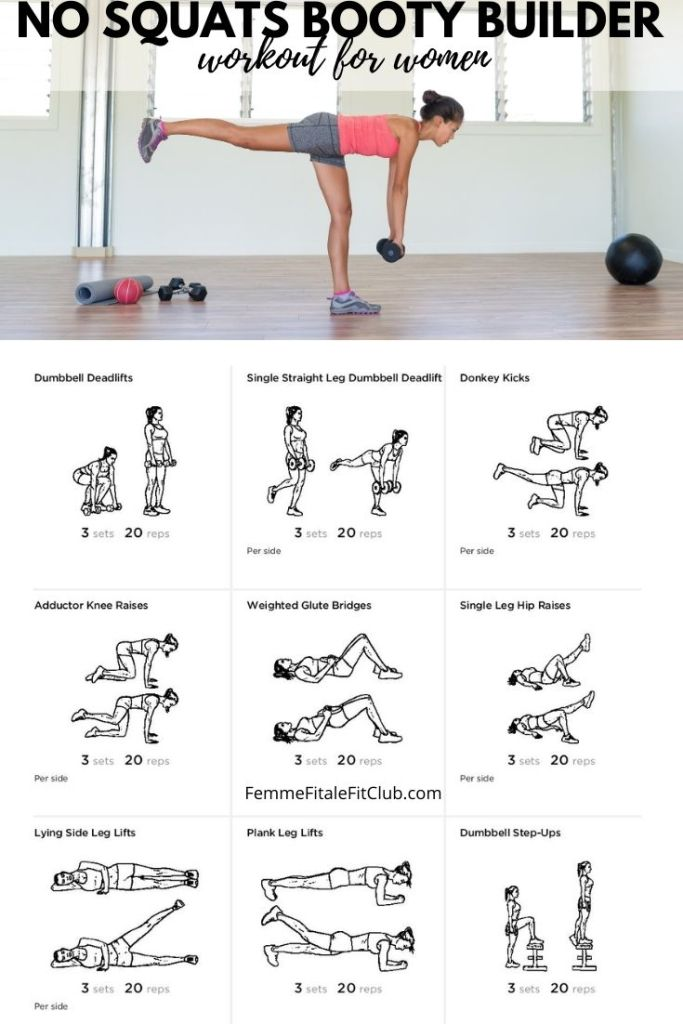 If you want to build your booty but have limited mobility or can't perform squats then try this No Squats Booty Builder Workout for women to get your buns nice, round and tight. #hipdips  #bigbooty #bubblebutt #bootyday #bootyworkout #buildabooty #bootyworkouts #bootygains #upperbooty