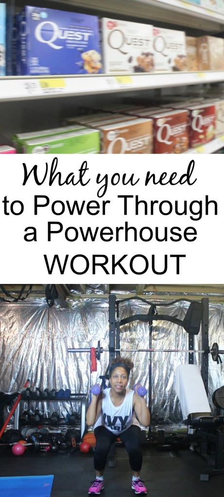 3 Things You Need to Power Through a Powerhouse Workout