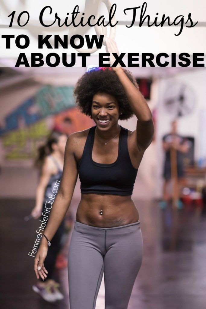 10 Critical Things To Know About Exercise #exercise #fitness #fitnessaddict #health #womenshealth #getfit #fitfam #fitnesstips