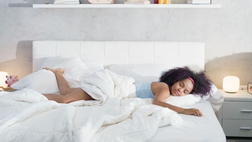 woman asleep
