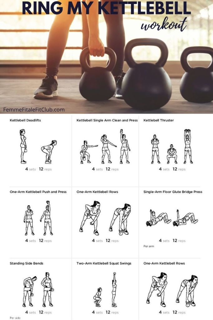 Try this kettlebell workout you can perform at home or in the gym. #kettlebell #kettlebellexercises #kettlebellkings #kettlebellworkout