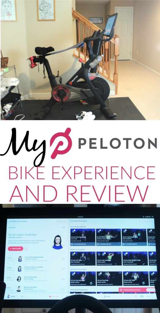 mY PELOTON Bike Experience and REview