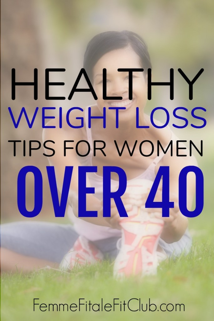 Healthy Weight Loss Tips for Women Over 40 #weightloss #weightlosstips #fitover40 #weightlifting