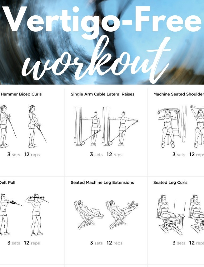 Vertigo-Free Workout #novertigo #vertigo #vertigofreeworkout #howtoworkoutwithvertigo #fitness #fitfam #workout #weightloss