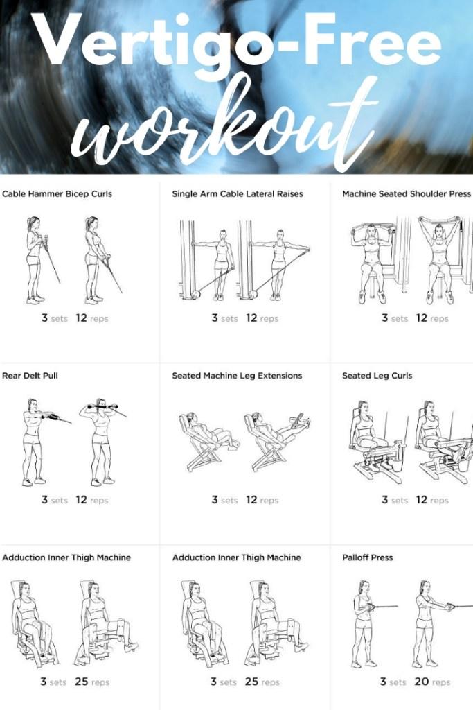 Vertigo-Free Workout #novertigo #vertigo #vertigofreeworkout #howtoworkoutwithvertigo #fitness #fitfam #workout #weightloss