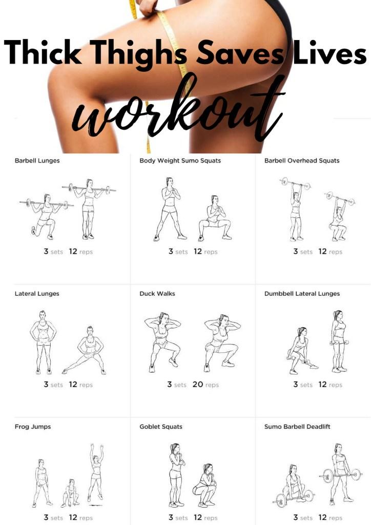 Thigh Workout #thighs #rectusfemoris #quads #quadriceps #legs #squats #sumosquats #lunges #sidelunge #gobletsquat #deadlifts (1)
