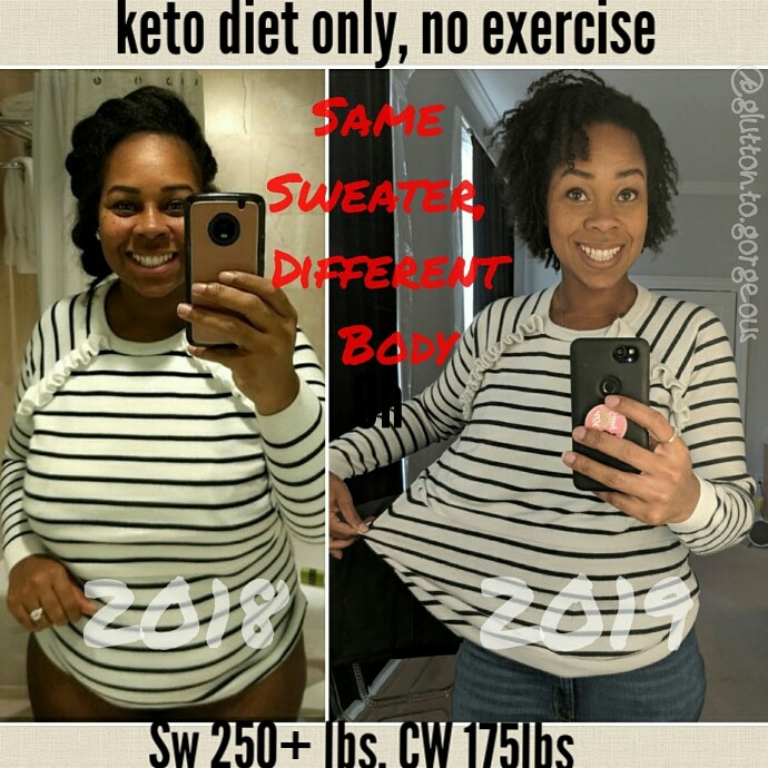 Glutton.To.Gorgeous #weightlossbeforeandafter #weightlosstransformation #weightlosstips #blackwomenweightloss #weightlosssuccess
