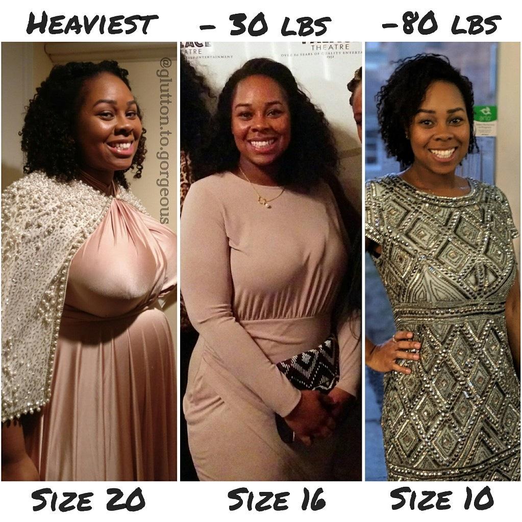 Glutton.To.Gorgeous #weightlossbeforeandafter #weightlosstransformation #weightlosstips #blackwomenweightloss #weightlosssuccess