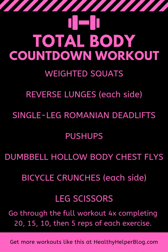 total body countdown workout #weightlossforwomen #homeworkoutsforwomen #gymworkoutsforwomen #fatlossforwomen #weightlossjourney #fatloss #weightloss #gethealthy #healthyandfit #womensfitness