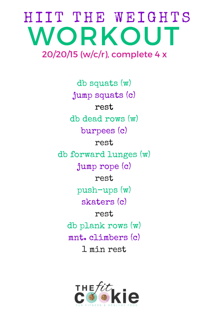 #HIIT The Weights Workout #weightlossforwomen #homeworkoutsforwomen #gymworkoutsforwomen #fatlossforwomen #weightlossjourney #fatloss #weightloss #gethealthy #healthyandfit #womensfitness