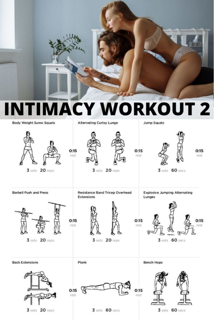 Rekindle your relationship with this 30 Days Of Intimacy Challenge and make sure you have the strength, endurance and stamina to complete the challenge with this workout. #marriage #married #themarriageclub #health #exercise #sex #sexy #sexdrive #stamina #endurance #fitness