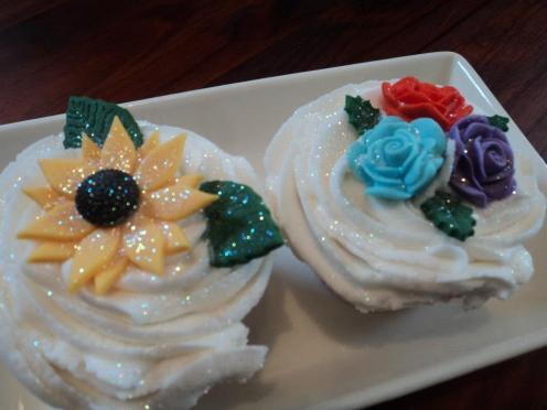 Cupcakes definitely beat tiny chocolates on your pillow!