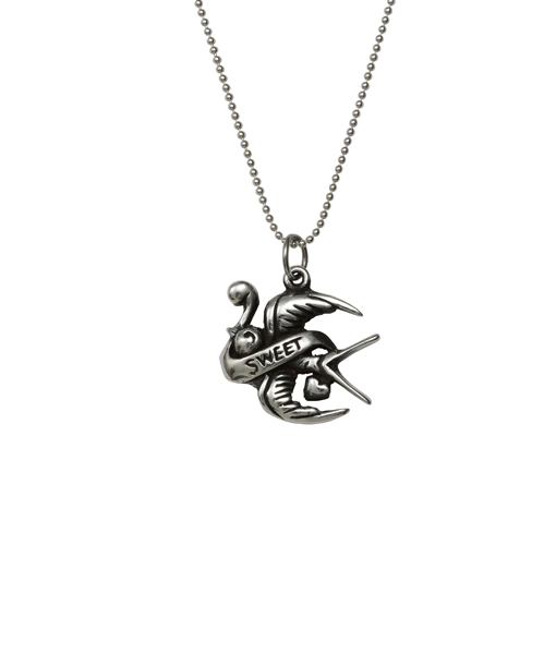 Sweet swallow charm necklace femme metale g4 ch sweet swallow mozeypictures Gallery