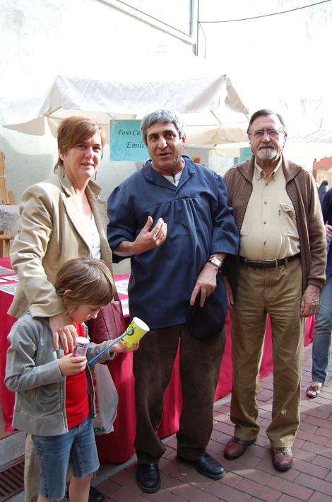 Teresa Cardellach i familia
