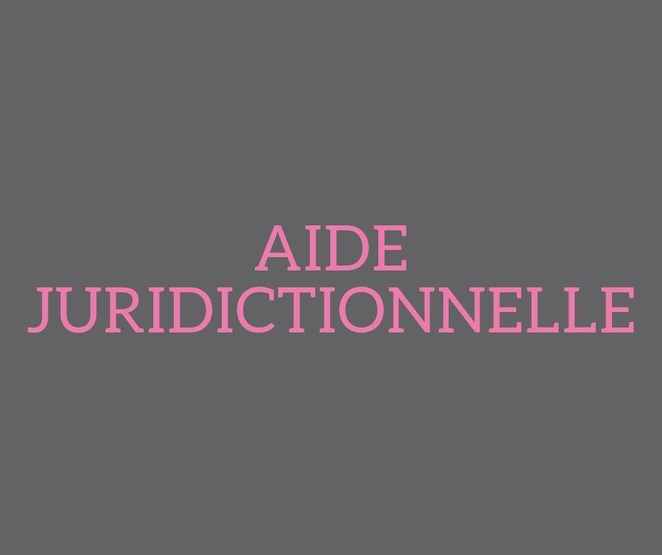 Aide juridictionnelle