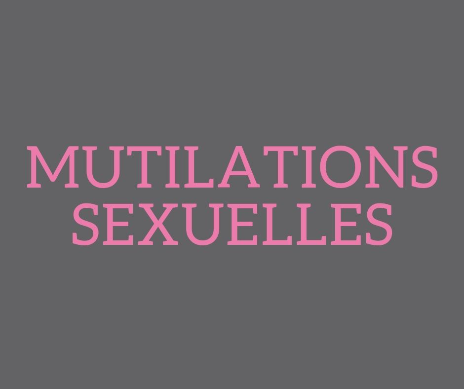 Mutilations sexuelles