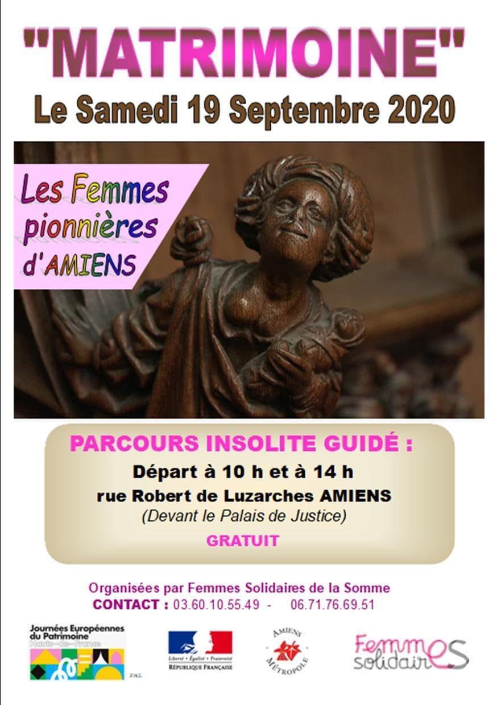 """Amiens – Journée """"Matrimoine"""""""