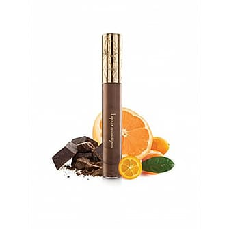 Gloss gourmand, chocolat noir et notes d'agrumes