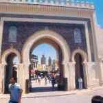 Porte de Medina de Marakech