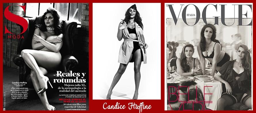 "Candice Huffine, le mannequin ""grande-taille"" en vogue"