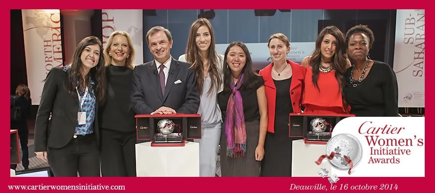 Cartier Women's Initiative Awards 2014