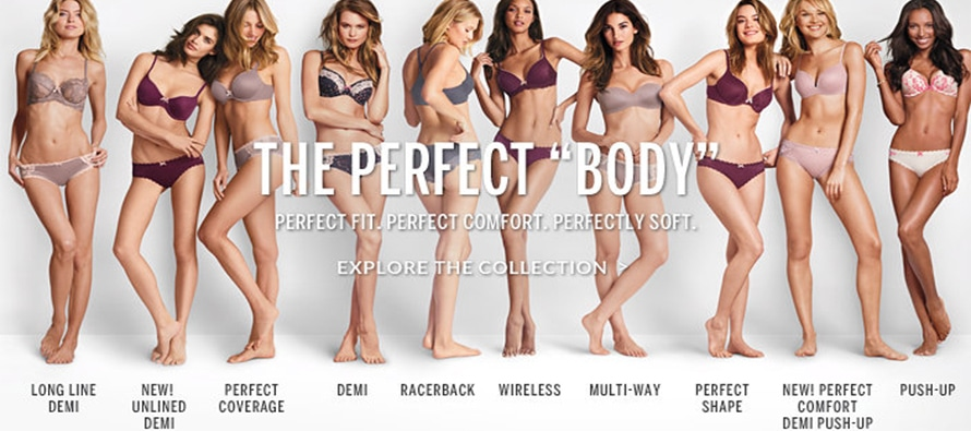 Campagne Victoria's Secret- The perfect Body