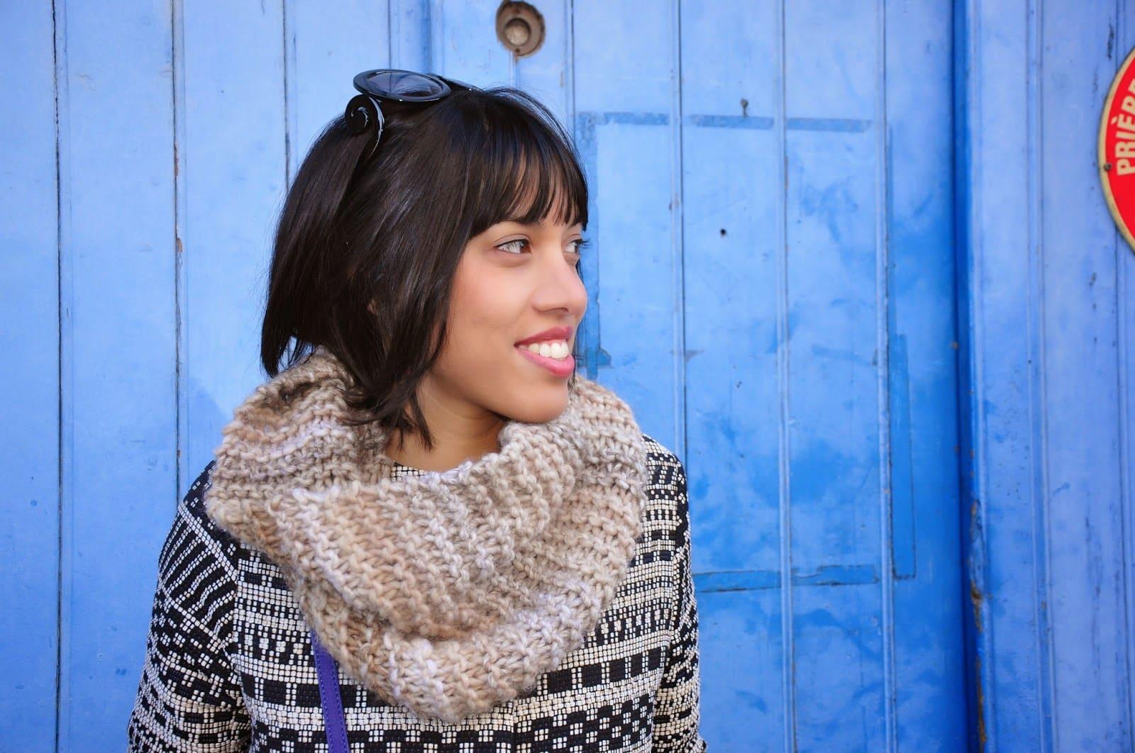 Lisallu ou la passion du tricot et de la couture