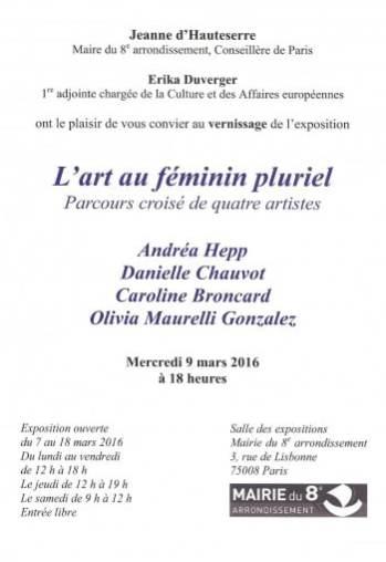 L'art au féminin pluriel 1