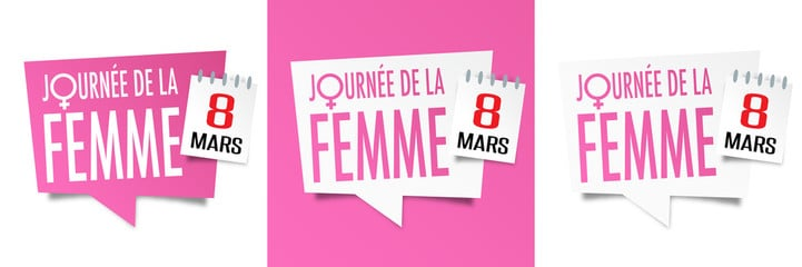 JOURNEE INTERNATIONALE DES DROITS DE LA FEMME: AGENDA