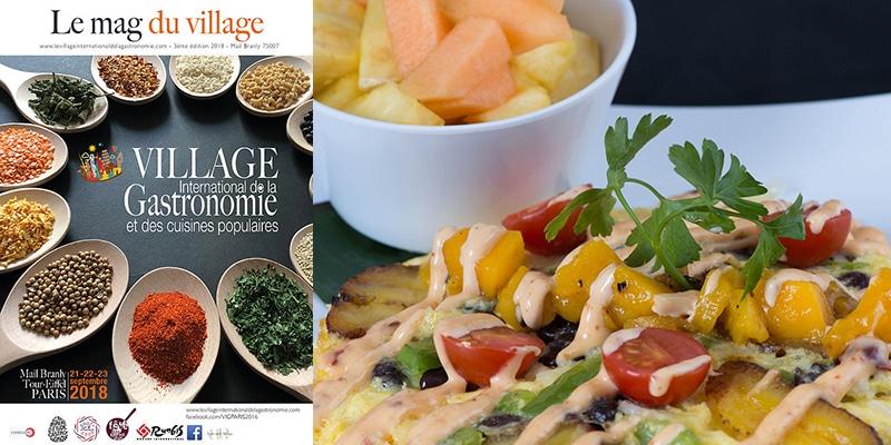 Le Village International de la Gastronomie et des Cuisines populaires de Paris