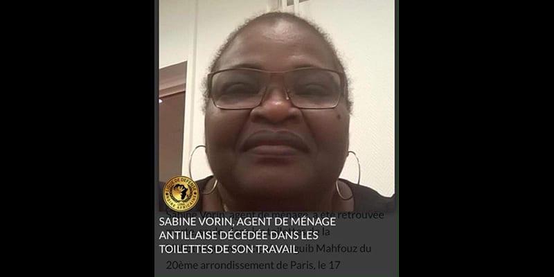 Paris, Mairie du 20ème :  Mama Sabine Vorin, victime d'harcèlement raciste sur son lieu de travail