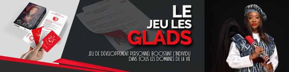 Les Glads, le jeu conçu par Pascaline Kamokoué