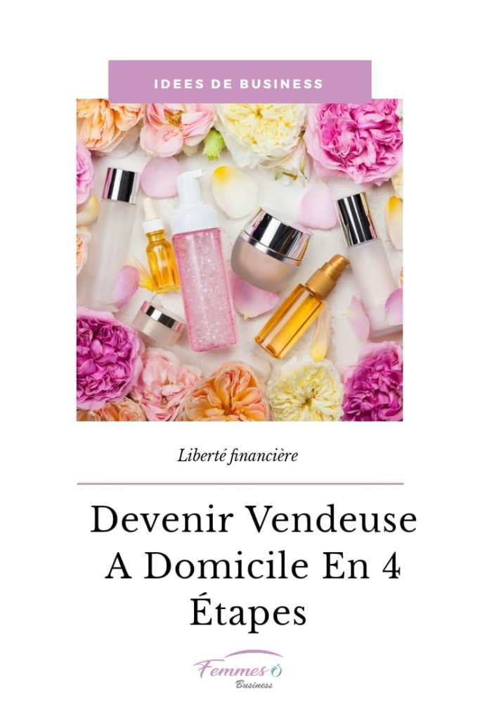 devenir vendeuse indépendante à domicle