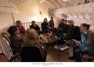 Atelier du Lab Femmes de cinéma Festival de Cinéma Européen des Arcs 2016