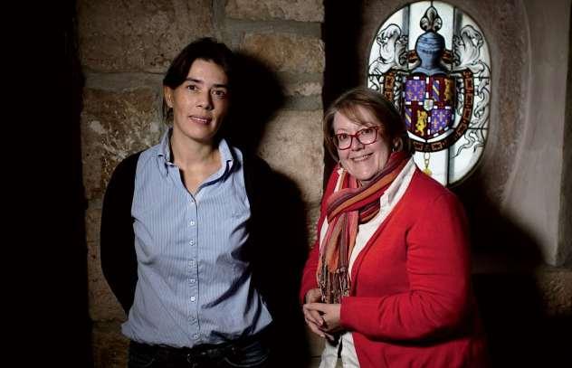 Sarah Cimarosti et Anne-Françoise Morin - ©Christophe Remondière