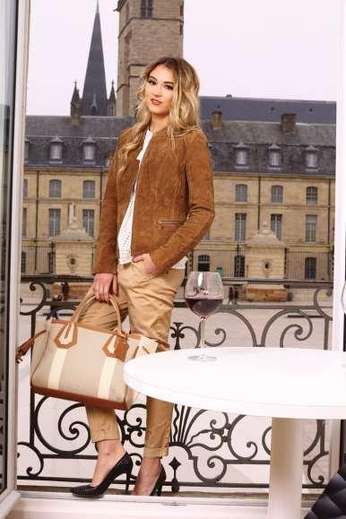 Tenue Vila Clothes (Icône) / Sac Longchamp (Jolicaprice)