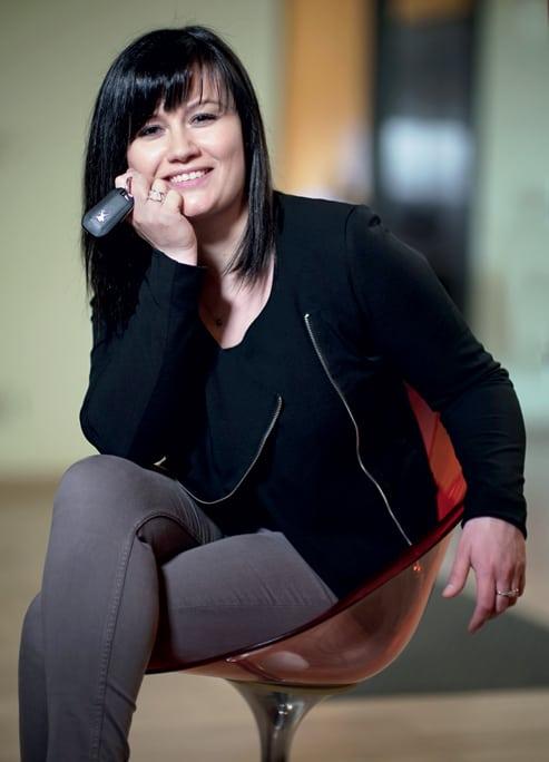 Sabrina Diconne, la directrice commerciale Grand Est, se satisfait d'une politique d'entreprise où le confort est une donnée considérée.