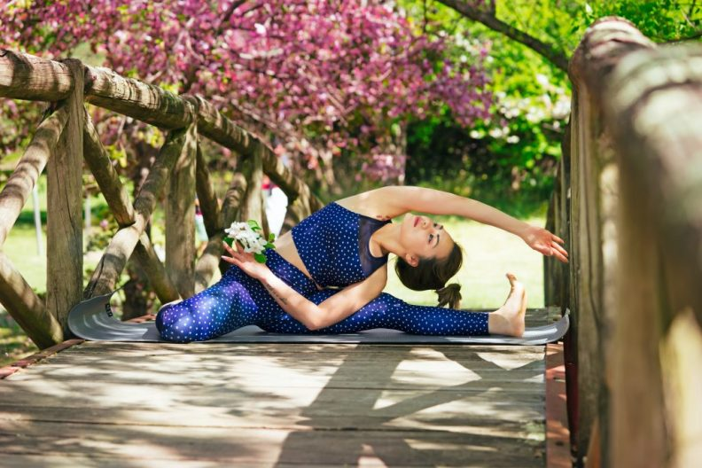 spring detox yoga