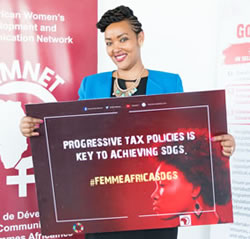 Dinah Musindarwezo Executive Director