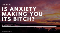 The Blog-anxiety is a bitch