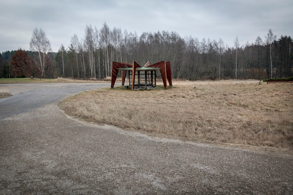 Christopher Herwig Soviet Bus Stops The Fence 20122016