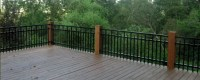Can Aluminum Fence Material be Used as a Deck or Balcony