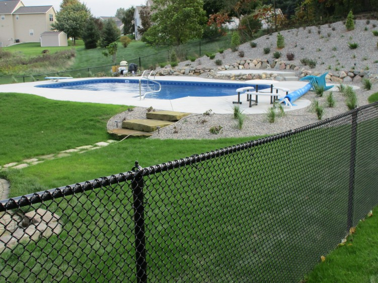 Image Result For Green Chain Link Fence