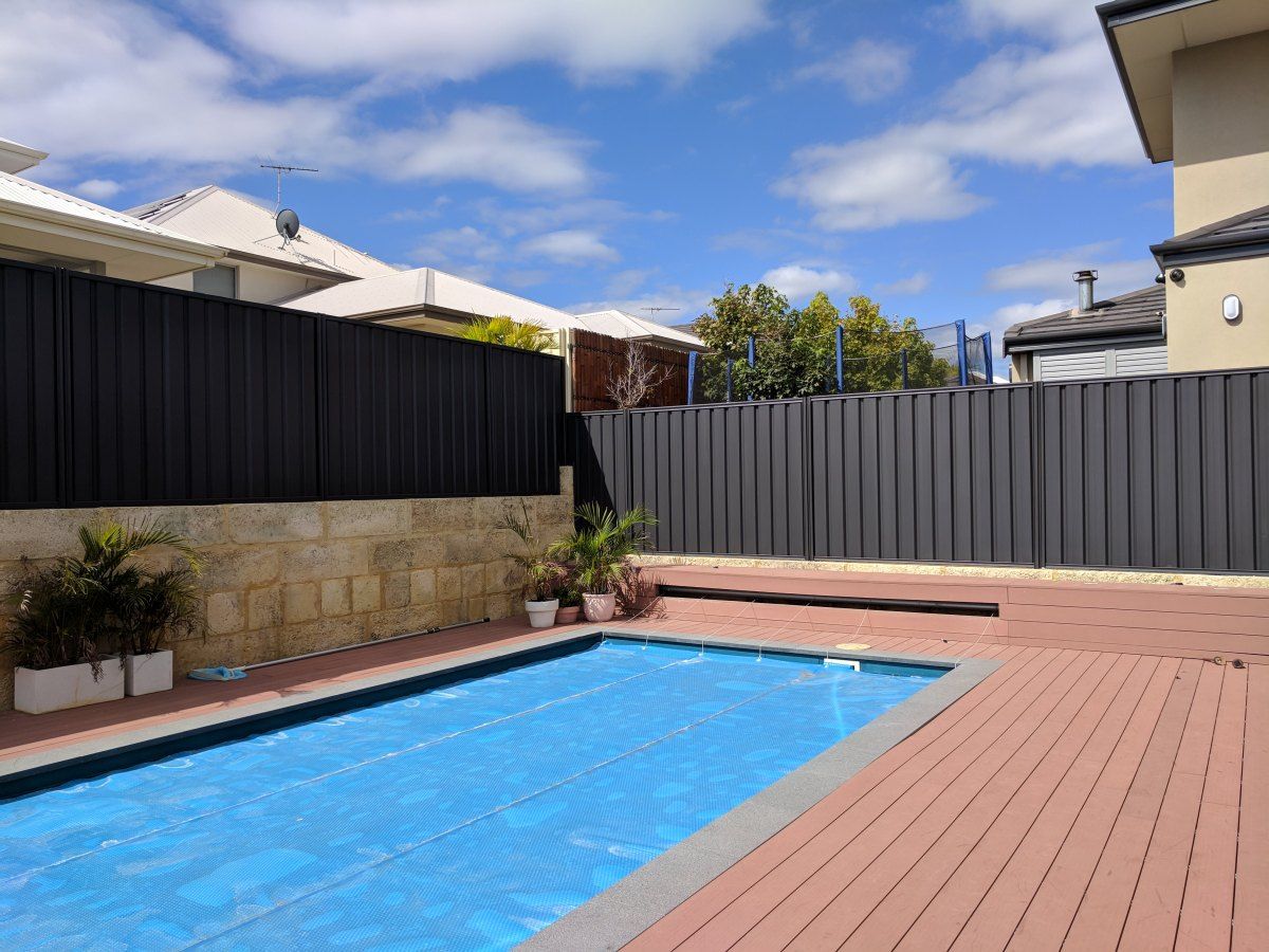 Colorbond fence painting Perth